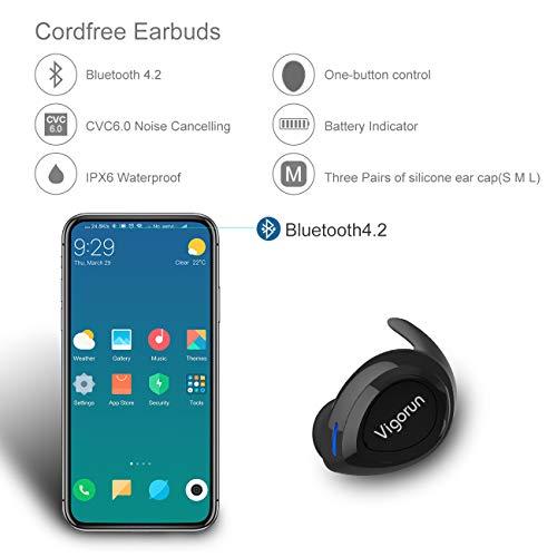 Vigorun-Auricolari-Bluetooth-Senza-Fili-Cuffie-stereo-Auricolare-con-Custodia-di-Ricarica-Cancellazione-del-Rumore-Auricolari-Wireless-IPX6-Impermeabile-Cuffia-con-microfono-per-iPhone-e-Android