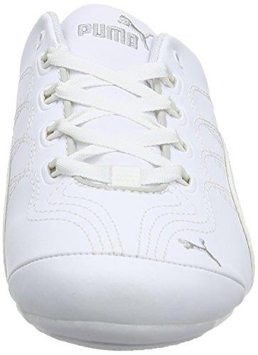 Puma Soleilv2comfunf6, Chaussures Multisport Outdoor femme Blanc (White/Puma Silver 02)