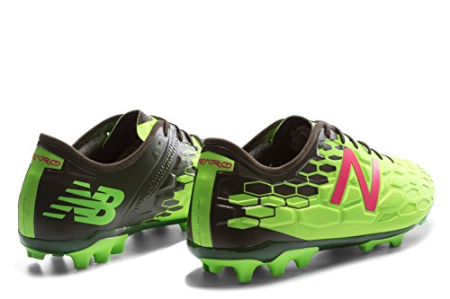 New Balance Visaro 2.0 Pro AG - Crampons de Foot - Energy Lime/Military Dark Triumph Green green