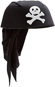 Rire et Confetti Reír y confeti - Fiepir048 - Disfraces de accesorios - Pirata Bandana - Negro