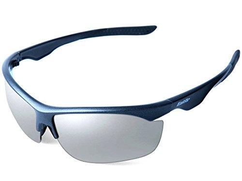 Eisbär Eyewear - Sonnenbrille Berggeist für Damen und Herren | Entspiegelt & Bruchsicher | Moderne Sportbrille mit UV Schutz 400 | Inklusive 3 Paar Wechselgläser