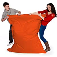 Big Brother Beanbags X-L funky bean bags, great for indoors or outdoors (ORANGE)