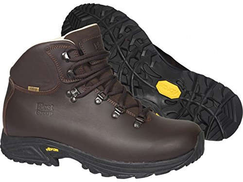 Best Group Storm Hommes Femmes Walking Trekking Bottes Ultra Light Brown
