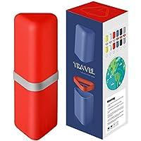 Anne - Estuche de viaje para cepillo de dientes con vaso para enjuague 4588aab353d4