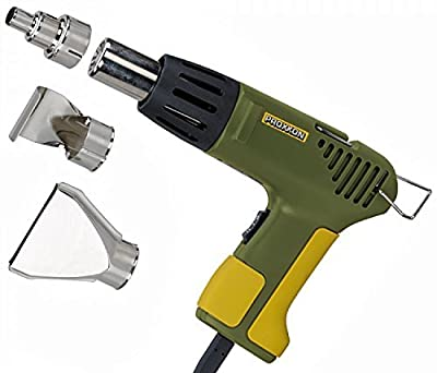 Proxxon 27130 MICRO-Heißluftpistole MH 550 mit 3 Zusatzdüsen von PROXXON GmbH auf Heizstrahler Onlineshop