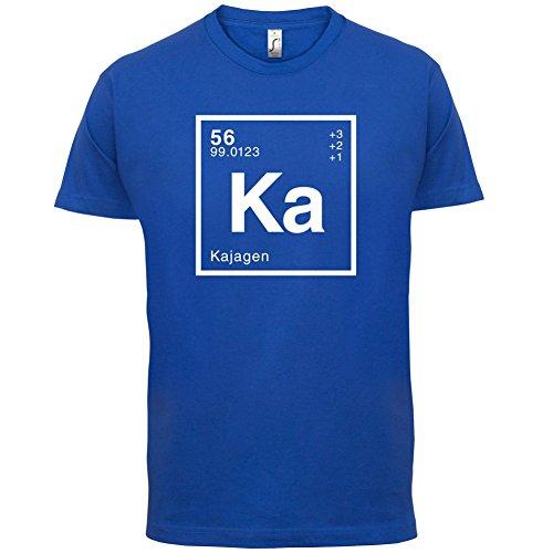 Kaja Periodensystem - Herren T-Shirt - 13 Farben Royalblau