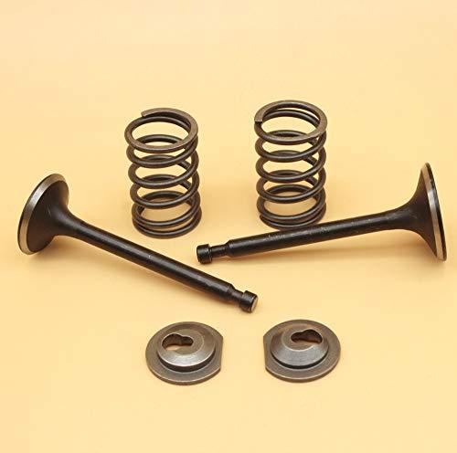 Laliva Einlass-Auspuff-Ventil-Halterungs-Set für Honda GX160 GX200 168F 170F 5,5-6,5 PS Gasmotor-Generator Rasenmäher -