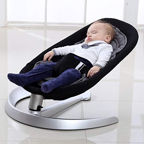 QT&YY Sedia a dondolo bambino,Bambino comfort sedia reclinabile pigro swing culla seggiolone chaise longue di professione d'infermiera-A
