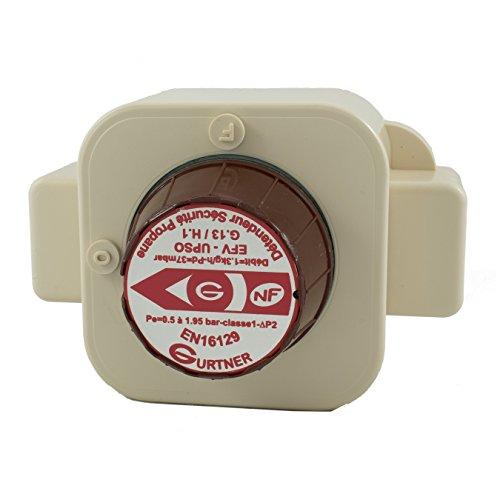 Gurtner - Détenteur Propane - Détendeur Gaz Propane 1.3kg/h Sécurité Basse Pression M20x150