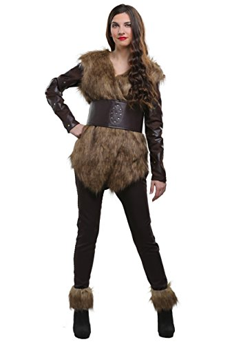 Schildmaid Lagertha Kostüm - Warrior Viking Damen Kostüm -