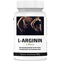 Vihado L-Arginin 1200 mg hochdosiert, Maca 1000 mg, Zink + Traubenkernextrakt OPC, 140 Kapseln, 1er Pack (1 x... preisvergleich bei fajdalomcsillapitas.eu