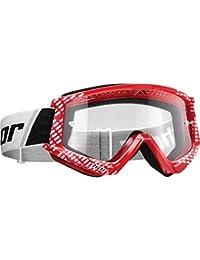 Thor Enemy Kinder Motocross Brille schwarz klare Scheibe