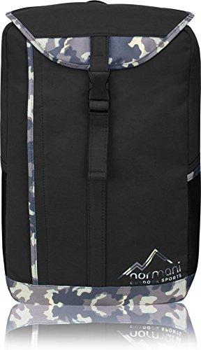Outdoor Sport Rucksack Freshman - Daypack 20 Liter Schwarz