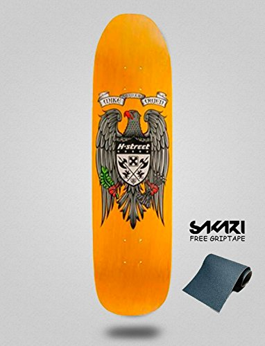 lordofbrands Monopatín Skate Skateboard Old School H-Street Mike Owen New Eagle 8.5