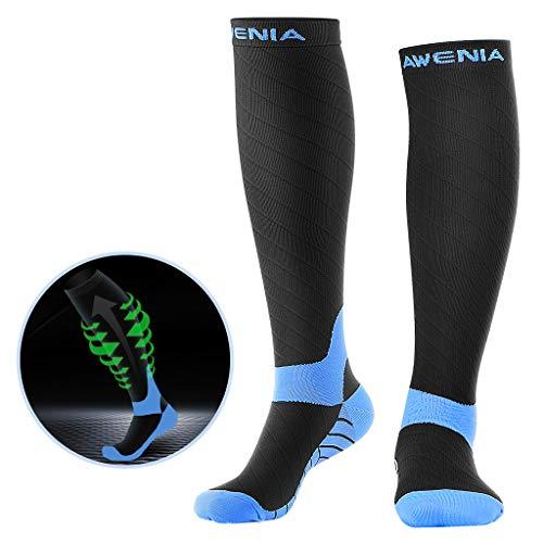 Awenia Calcetines de Compresión Deportivos Medias Transpirables