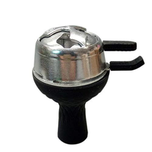 Babysbreath17 Aluminiumlegierung Kaloud Kohlehalter Ofen-Brenner für Shisha Tabakkopf Shisha Kopf Hitze Keeper mit Silikon-Bowl 1# 7.3cm -