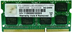 G.SKILL 8GB X 1 DDR3 1333MHZ CL9 VALUE RAM FOR LAPTOP