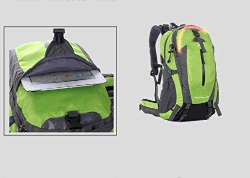 YUEER All'aperto Alpinismo Spalle Viaggio Trekking Viaggiare Uomini E Donne Campeggio Multifunzione Zaino,A E