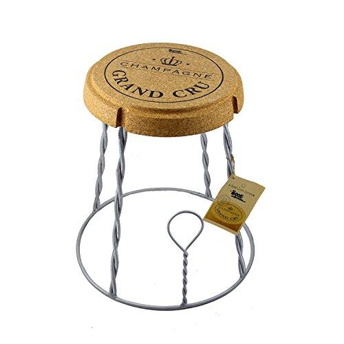 Beat-Champagne-2-Cork-Series-Tabouret-Table-Mtal-Et-Lige-Design-Par-Mini-Garibay