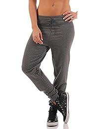 malito Pantalones de Chándal en el Aspecto Clásico 8040 Mujer
