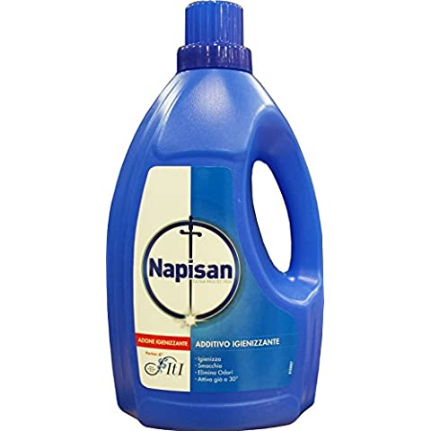 8 x NAPISAN Additivo Lavatrice Liquido 1200 Ml