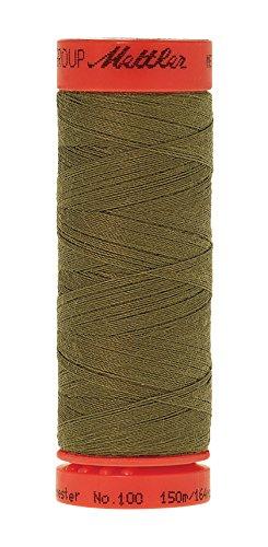 Mettler metrosene 100% Core gesponnenes Polyester Gewinde, 165YD, Olive Drab (Mettler-polyester-faden)