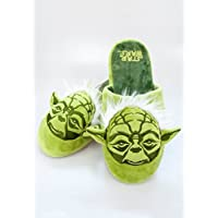Yoda Star Wars Slippers Adult, Green, 43687