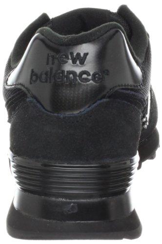 new styles df46e 31cbf New Balance M574TBK-574, Men Training Running Shoes, Black ...