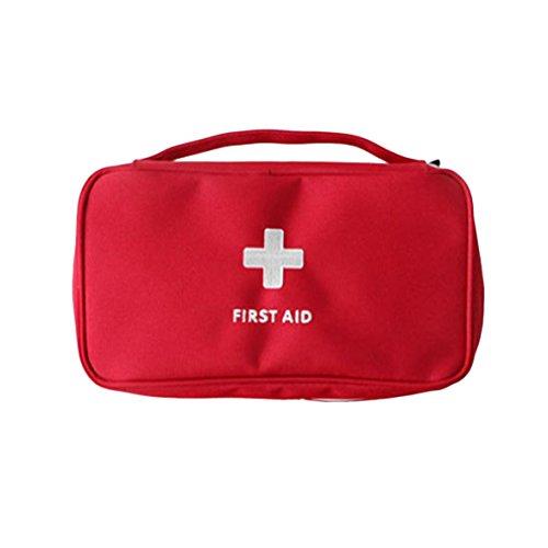 Kongqiabona Portable Medizin Tasche Multi-Layer-Erste-Hilfe-Kit Outdoor-Reise-Rettungstasche