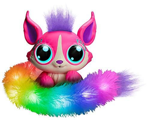 Mattel GHP17 - Lil´Gleemerz Adorbrite pink interaktives Spielzeug reagiert auf Berührung und Klang, Geschenk für Kinder ab 5 Jahren