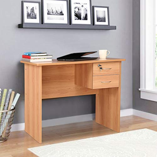 HomeTown Simply Engineered Wood Study Table in Honey Color