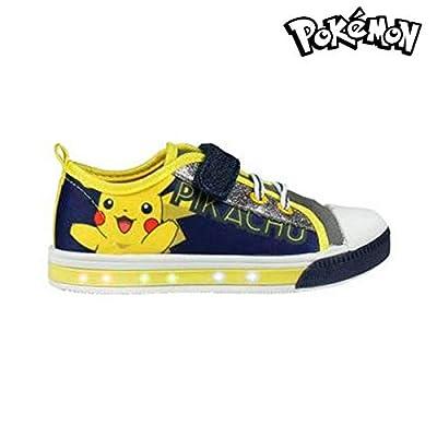 Zapatillas Casual con LED Pokemon 3700 (talla 28)