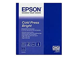 Epson Cold press bright Papier Photo 340g/m2 1118mm x 15m