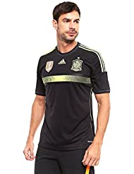 Jersey Replica Black Red Silver 14/16 Spain Adidas