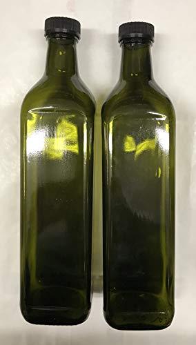 12 pezzi bottiglie IN VETRO SCURO UVAG marasca olio liquore capacita' 750 ml con tappo