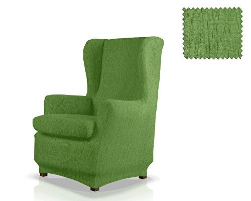 JM Textil Copripoltrona Elastico con Orecchie Haber Dimensione 1 Posto (Standard), Colore 04 (Vari Colori Disponibili.)