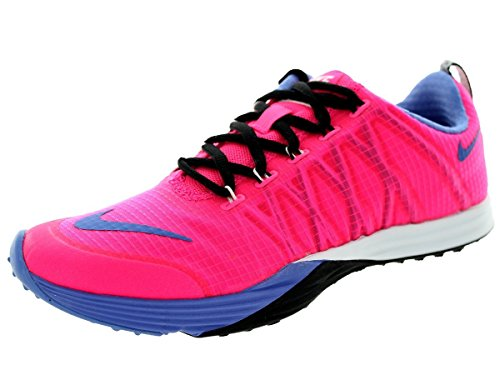 Nike womens lunar 653528 cross-Scarpe da ginnastica, scarpe da corsa, da uomo (pink power polar black white 600)