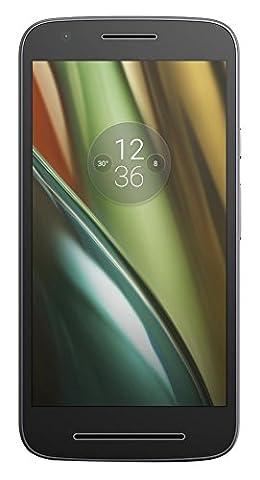 Motorola Moto E3 Lenovo Smartphone (12,7 cm (5 Zoll), 8 GB, Android, 4G LTE) schwarz