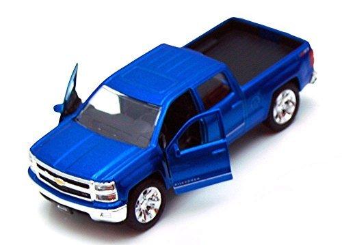 new-132-display-just-trucks-blue-2014-chevrolet-silverado-diecast-model-car-by-jada-toys-by-jada