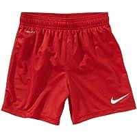 Nike Shorts Park Knit Boys Mit Innenhose - Pantalones cortos de fútbol para niño, color rojo, talla FR: 158-170