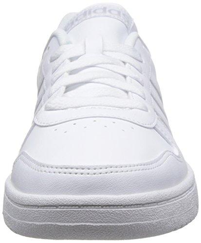 Adidas Vs Hoops 2 0 Scarpe Da Ginnastica Basse Uomo Bianco footwear White footwear White grey One