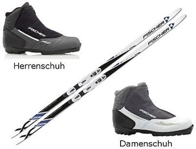 Set de Esquí de Fondo FISCHER SUMMIT + Fijaciones + XC Pro Guantes (207centímetros, 48Hombre)