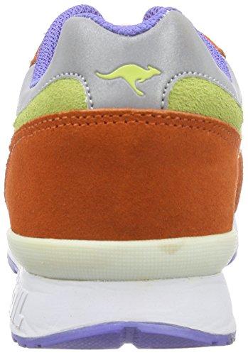 Kangaroos Coil R1 Multi, Baskets mode femme Multicolore (prawn wht fluorite)
