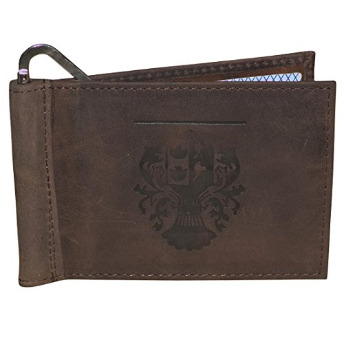 Style98 Leather ATM Credit Card Holder Cum Money Clip Wallet For Boys,Girls,Men & Women