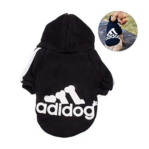 DOXMAL Adidog Hund Pullover Haustier Hundekleidung Adidog Kostüme T-Shirt Warm Pullover Mantel Pet Kleidung für kleine, mittelgroße Hunde