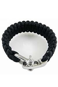 Vococal® Réglable Paracord de corde de parachute de survie Bracelet w / boucle acier