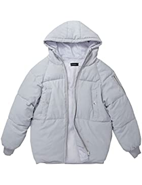 Giubbotto Giubbotto Donna DFUCF Giacca Invernale Giacca In Cotone Top Moda Più Calda Inverno Grigio