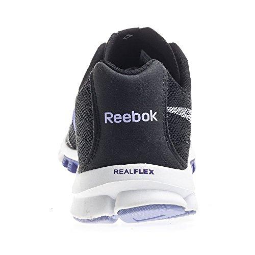Reebok Realflex 2.0 Womens Chaussure De Course à Pied Black