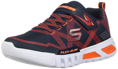Skechers calzature sportive bambino, color blu, marca, modelo calzature sportive bambino slights flex-glow blu