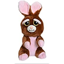 William Mark Feisty Pets Vicky Vicious Plush Adorable Plush Stuffed Bunny that Turns Feisty with a Squeeze by William Mark